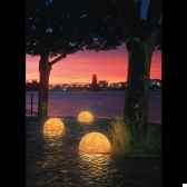 lampe ronde sound granite moonlight mlslmflgl350xxx0202