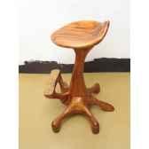 tabouret de bar poulpe bois de rauli last1373770r