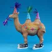 figurine anniversaire chameau hb16925