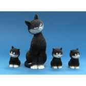 figurine chat alignement dubout dub22