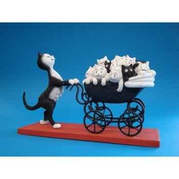 Figurine Chat le landau Dubout -DUB 25