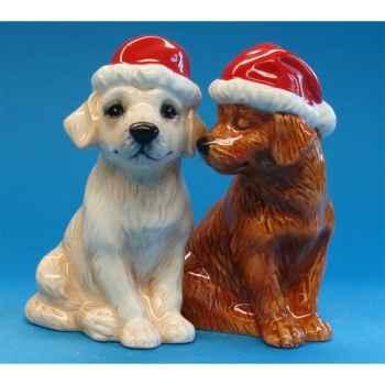 Figurine Chien Sel et Poivre -MW93472