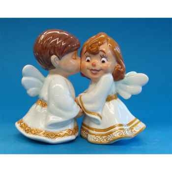 Figurine Ange Sel et Poivre -MW93473