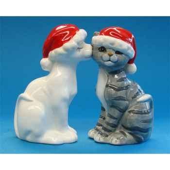 Figurine Chat Sel et Poivre -MW93474