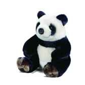 peluche panda assis anima 1633
