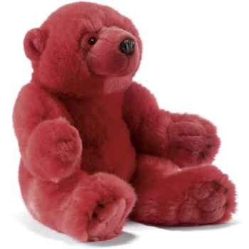 Peluche Oursons assis rouge Anima -7051