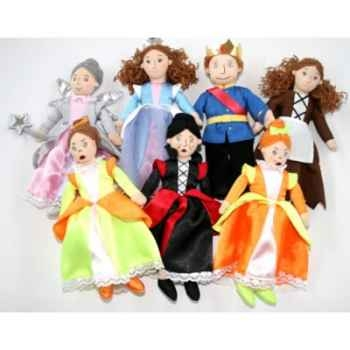 Coffret histoire Cendrillon The Puppet Company -PC003049