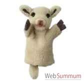marionnette mouton blanc the puppet company pc008028