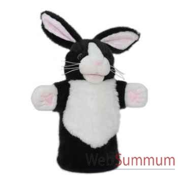 Marionnette Lapin blanc et noir The Puppet Company -PC008003