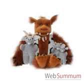 marionnette le trolet les trois boucs bourrus the puppet company pc003401