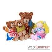 marionnette boucle d or et les trois ours the puppet company pc003403