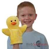 marionnette canard jaune the puppet company pc003806