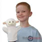 marionnette agneau blanc the puppet company pc003813