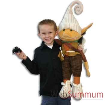 Marionnette Lutin avec rat noir The Puppet Company -PC003704