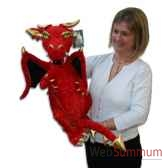 marionnette dragon rouge the puppet company pc003752