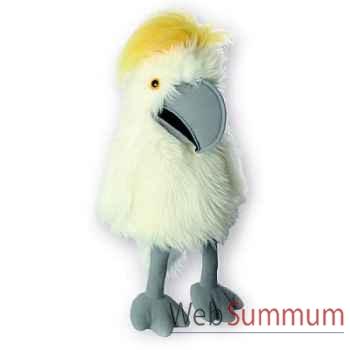 Marionnette Cacatoès soufré à huppe jaune The Puppet Company -PC003101