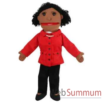 Marionnette Maman ton sombre The Puppet Company -PC002043