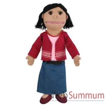 Marionnette Maman ton olive The Puppet Company -PC002045