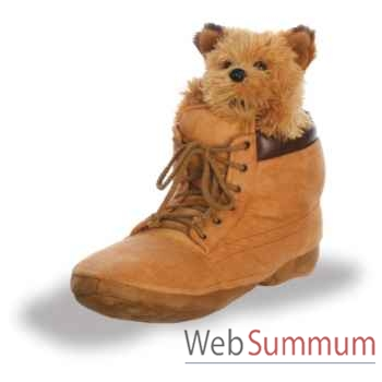 Marionnette Chiot dans une chaussure The Puppet Company -PC003029