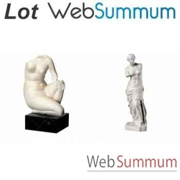 Promotion 2 statuettes Aphrodite -LWS-253