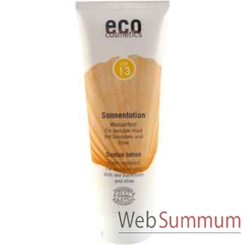 Soin Lotion solaire Sonnenlotion LSF 13 Eco Cosmetics -742009