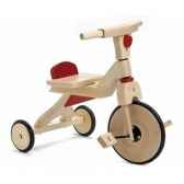 tricycle bois jasper toys rouges 8653965
