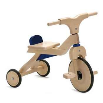 Tricycle Bois Jasper Toys bleus -5049201