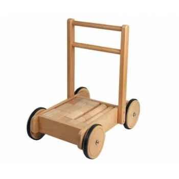 Chariot de marche Jasper Toys avec cubes -5049250