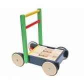 chariot de marche jasper toys avec cubes 5049251