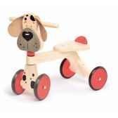 porteur bois jasper toys chien 5049364