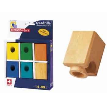 Circuit à billes Quadrilla Expansion 4 Blocs colorés -3684613