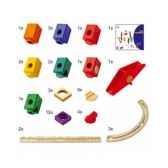 circuit a billes quadrilla set d extension pour set de base 3684612