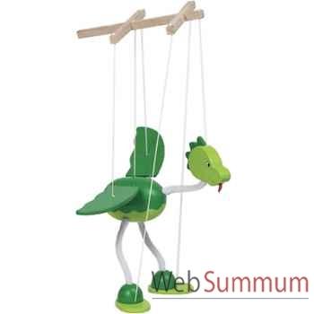 Marionnette Dinosaure à fil en bois Goki -51942