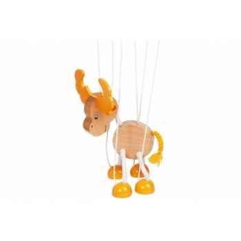 Marionnette Elan à fil en bois Goki -51968