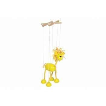 Marionnette Lion à fil en bois Goki -51868