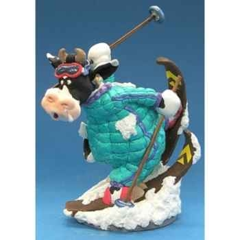 Figurine So Vache au ski -SOV 03