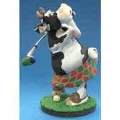 figurine so vache jouant au golf sov 04