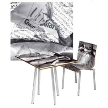 Table carrée Versatile Aitali -TAB01