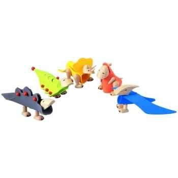 Dinosaures à Construire 5 Pces PlanToys -4340
