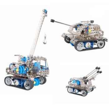 Jouet de Construction Divers véhicules roues chenille Eitech -100020