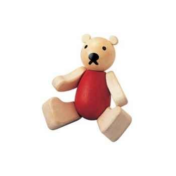 Ours Teddy en bois Plan Toys -5212