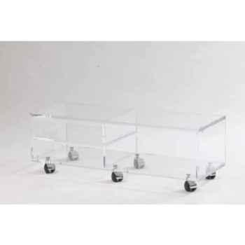 Table télé 99x35x32.5 Marais pour écran LCD ou plasma -MTV102