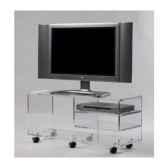 table tele 99x35x45 marais pour ecran lcd ou plasma mtv103