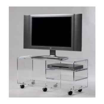 Table télé 99x35x45 Marais pour écran LCD ou plasma -MTV103