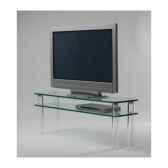 table tele 130x35x48 marais pour ecran lcd ou plasma mtv130