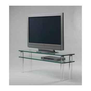 Table télé 130x35x48 Marais pour écran LCD ou plasma -MTV130