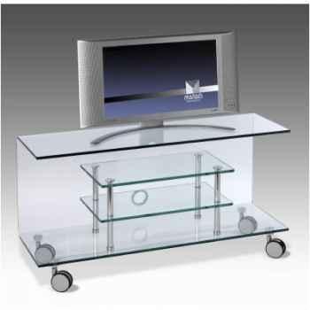 Table télé 110x38x58 Marais pour écran LCD ou plasma -CPLASMA3