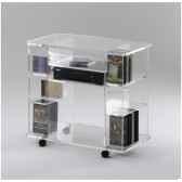 table tele 80x45x745 marais hifi video en pmma mt90