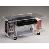 table tele 80x396x37 marais lecteur dvd en pmma mt91