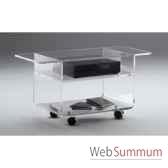 table tele 90x396x425 marais lecteur dvd en pmma mtv49
